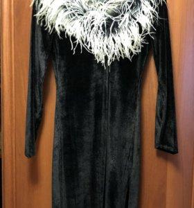 Платье чёрное вечернее