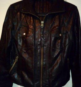 Куртка кожаная(размер м)