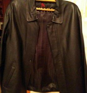 Мужская куртка экокожа .52-54