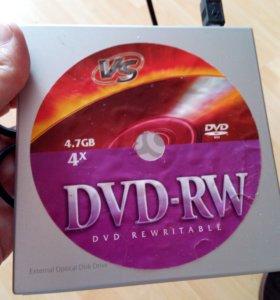 Внешний DVD-RW дисковод