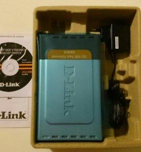 Коммутатор D-link DES1008D