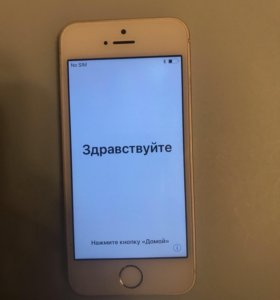 iPhone 5s 64 GB white