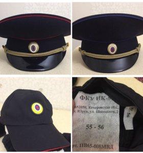 Фуражка/бейсболка МВД полиции/юстиции