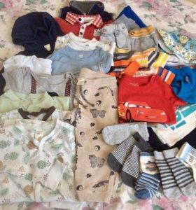 Одежда для мальчика 86 р-ра, более 30 вещей