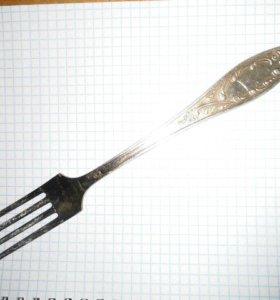 мельхиоровая вилка