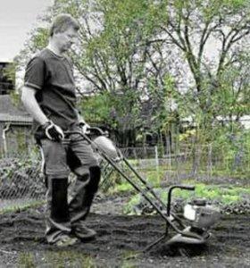 Помощь на садовом участке