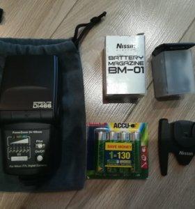 Фотовспышка Nissin Di466 For Nikon