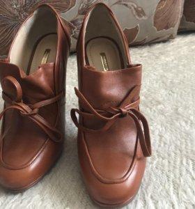 Туфли - ботинки натуральная кожа
