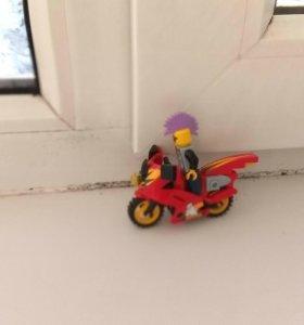 Мотоцикл из LEGO.