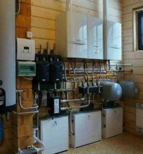 Канализации отопление и водоснабжение