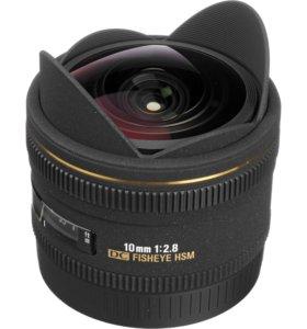 Sigma AF 10mm f/2.8 EX DC HSM Fisheye Canon EF-S
