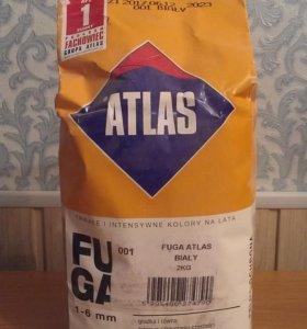 Затирка для швов АТЛАС № 001 белая 2 кг