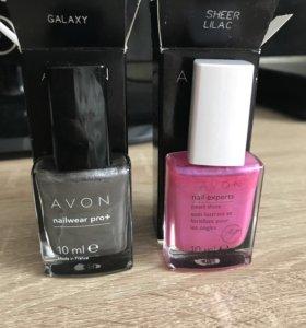 Новые Лаки для ногтей Avon