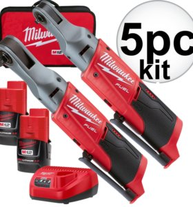 "Milwaukee 2556-22 M12 Fuel 12V Cordless 1/4""+3/8"""