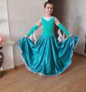 Вальсовое платье