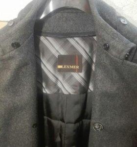 Пальто из  драпа шинельного