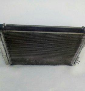 Радиатор кондиционера и охлаждения киа рио 3