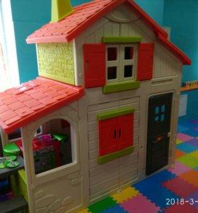 Детский двухэтажный домик Smoby