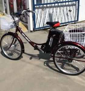 Электровелосипед 3-х кколёсный