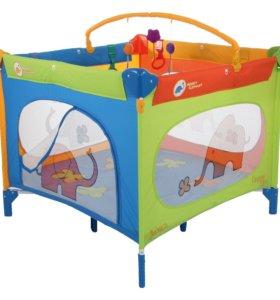 Манеж-кровать Детский складной Jetem