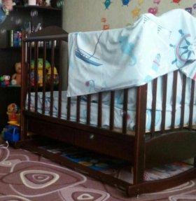 Детская кроватка Ведрус Лана 2