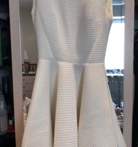 Шикарное Платье dulsic shop белое