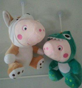 Мягкие игрушки Пеппа