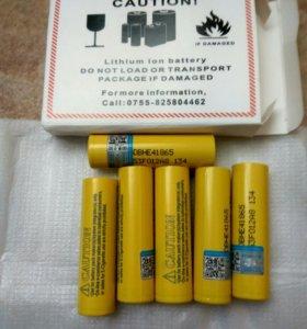 Высокотоковые аккумуляторы 18650