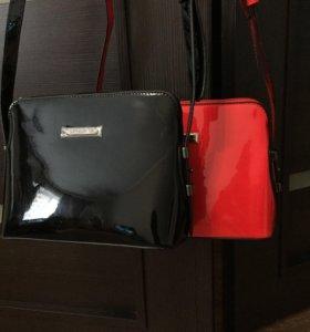 Новые лаковые сумочки