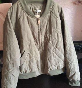 Женская куртка ветровка , большой размер