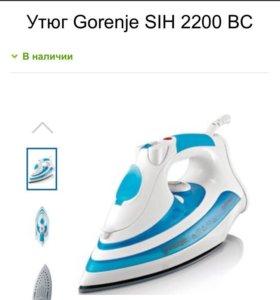 Новый утюг Gorenje OptiSteam+ SIH 2200