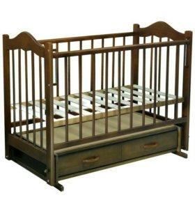 Кроватка детская без матраса