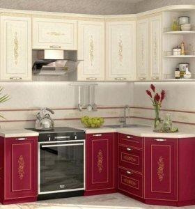 Кухонный гарнитур угловой «Виктория 14»