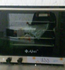 Конвекционная печь Abat + стол для противней