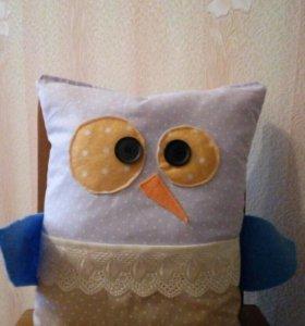 Подушка- пультятница сова