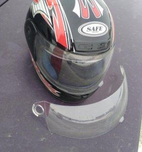 Мотошлем SAFE, Шлем, +визор