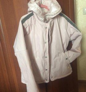 Куртка женская EVACANA нежно розового цвета р-р 44