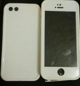 Водонепронецаемый чехол на айфон 5s