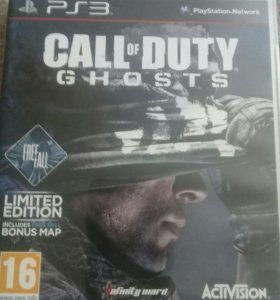 CALL OF DUTY GHOST на PS3