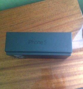 Коробка от 5 айфона