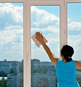 Помою окна в квартире/частном доме