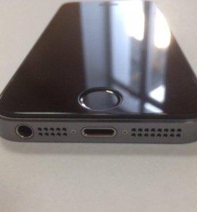 Айфон 5S объем 16 Гб Touch ID Space Gray