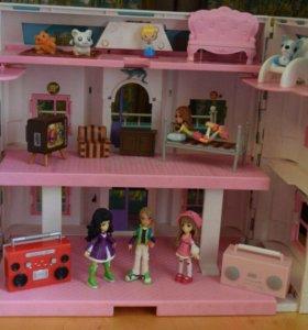 Дом игрушечный