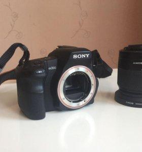 Sony DSLR-200а