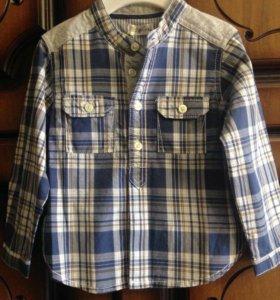 Рубашка для мальчика, новая