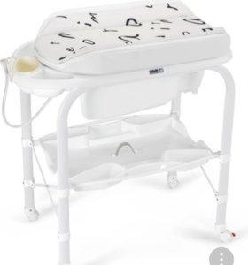 Пеленальный стол с комодом и ваночкой