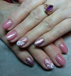 Наращивание ногтей Лорис,Индустриальный