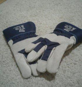 Рабочие тёплые перчатки