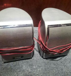 Колонки BBK с проводами
