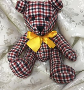 Мягкая игрушка медведь